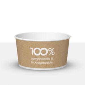 170cc compostable ice cream tub