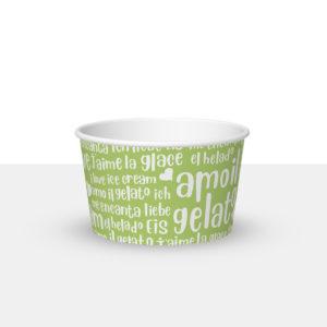 250ml ice cream paper cup